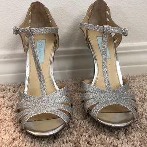 f2e5594d9bd4 Women s Betsey Johnson Blue Wedding Shoes on Poshmark